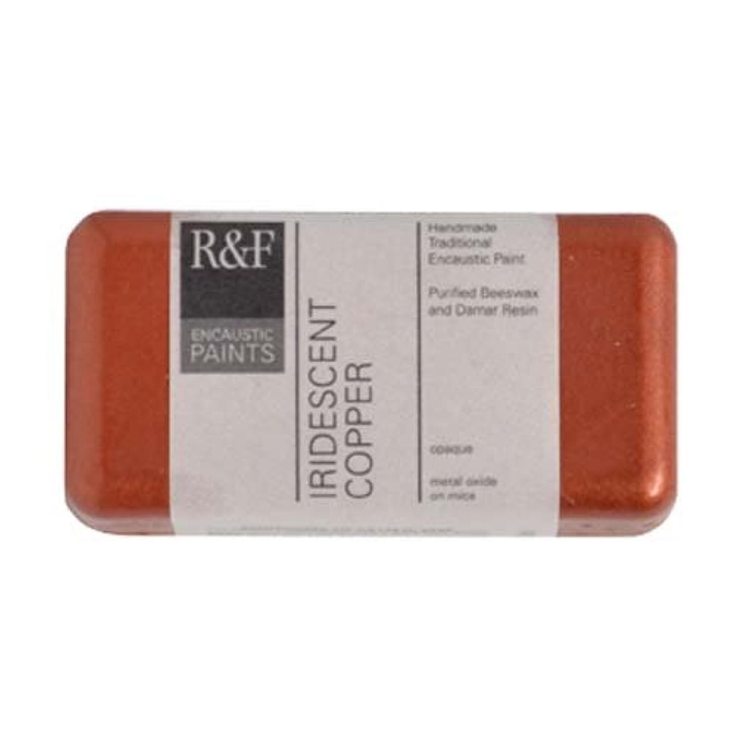R&F Encaustic 40ml Paint, Iridescent Copper