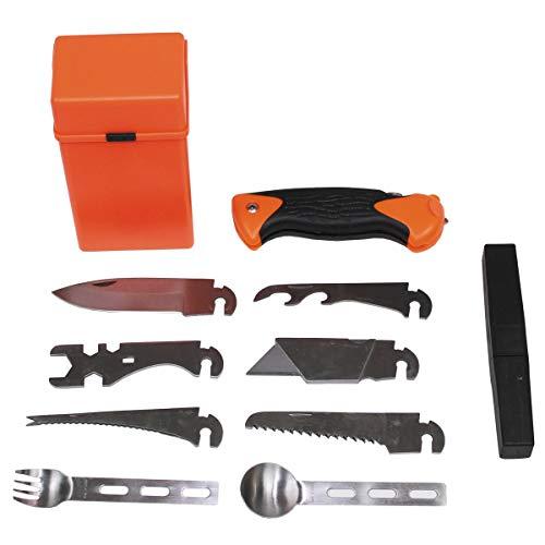 MFH Combat Survival Kit Special Ueberlebens Ausruestung Set 27 Teile Outdoor Equipment
