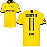 PUMA Borussia Dortmund BVB Heimtrikot 2019/20 Home Trikot Sponsor BL Logo Kinder Marco Reus 11 Gr 164