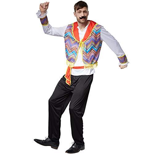 dressforfun 900565 - Disfraz de Hombre Mejicano, Traje Chaleco Tradicional (S   No. 302715)