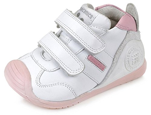 Biomecanics 151157, Zapatos de primeros pasos Unisex Bebés, Multicolor (Sauvage), 20 EU