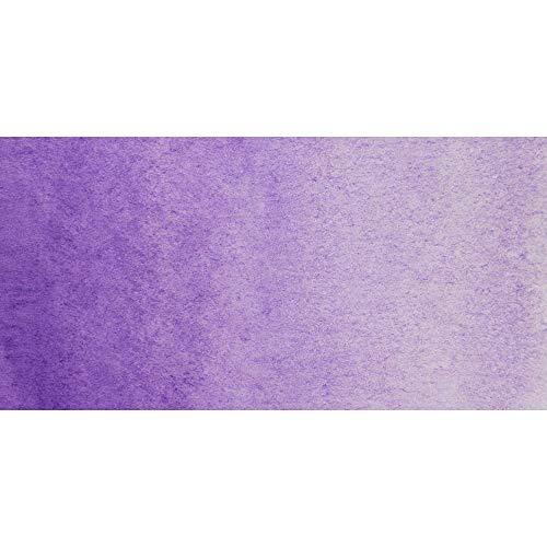 White Night Artists Acuarela Ultramarina Violeta Semiseca Sartenes enteros en tazas de plástico (A)