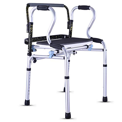 Zfggd Senioren-Gehhilfe ohne Rad Gehhilfe Vierbeiner Senioren-Gehhilfe