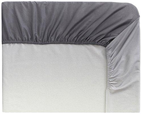Designers Guild Saraille dekbedovertrek, katoen-satijn, 90 x 190 cm, grijs
