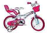 Dino Bikes 616-NN Mouse Minnie Bicicleta, 40,6 cm, Rosa