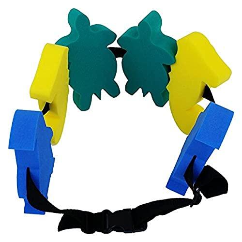 Leisis 0101017 Cinturón de flotación, Niños, Azul, 60 x 16 x 3 cm