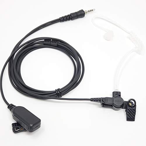 Pulsat Professional Series 2-Wire Surveillance Kit for Motorola EVX-S24 Vertex, Standard Horizon HX210 HX400IS HX380 HX40 HX870 Marine IP65