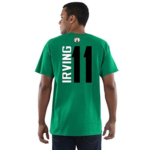 Football Fanatics Boston Celtics Kyrie Irving Vertical Player T-Shirt Green (XX-Large)