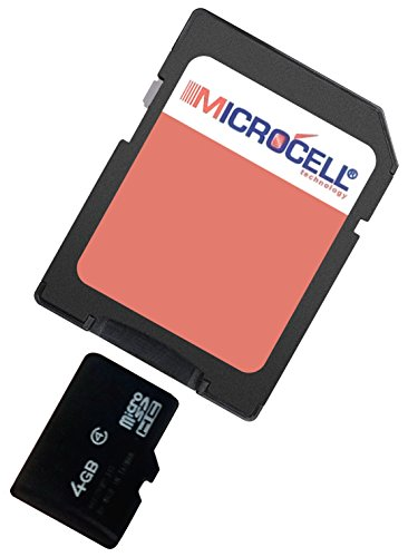 yayago Microcell SD 4GB geheugenkaart / 4GB micro SD-kaart voor Tchibo Action Cam Full HD