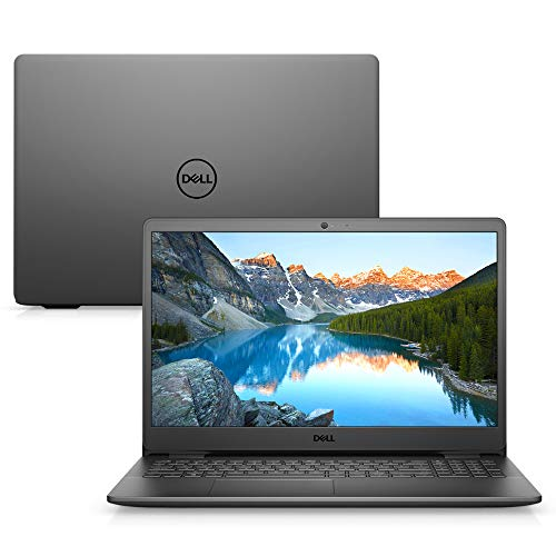 Notebook Dell Inspiron i15-3501-A45P 15.6' HD 11ª Geração Intel Core i5 8GB 256GB SSD Windows 10 Preto
