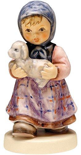 Hummel Manufaktur Hummel Figur Mein kleines Lamm, original MI Hummel Collection, im Geschenkkarton