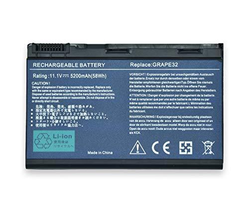 New Net - Batería de 5200 mAh Compatible con portátiles Acer Extensa...