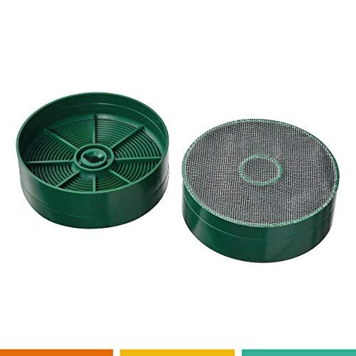 FC101 - jeu de deux filtres à charbon pour hotte - Gorenje 240745 - NYTTIG FIL 120