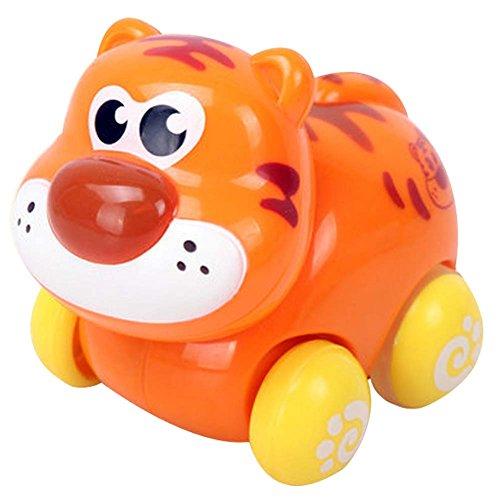 Blancho Lot de 2 Wind-up Toy Tiger Voiture pour bébé / Enfant (Multicolor)