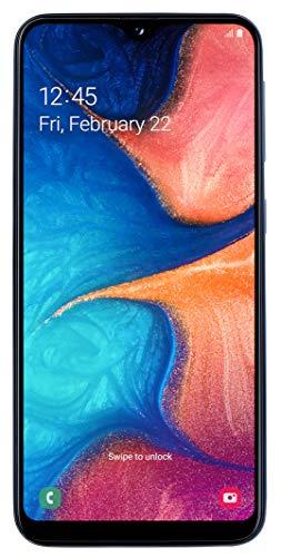 Samsung Galaxy A20e Smartphone (14,82 cm (148,2 mm) 5,8 pollici, 32 GB di memoria interna, 3 GB di RAM, Dual SIM, blu) – Versione tedesca
