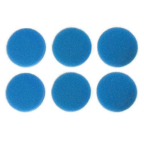 Sin marca Estera de Esponja de Filtro Media Gruesa Azul Adecuada para Eheim Classic 2215/350 2616151