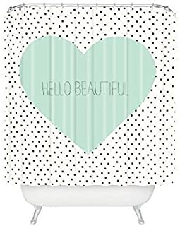 Best hello beautiful shower curtain Reviews