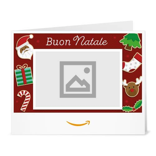 Buono Regalo Amazon.it - Stampa - Carica una foto - Biscotti di Natale