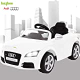 Baybee Audi TT Licensed Rechargeable Battery Operated Ride on car for Kids Music|Kids