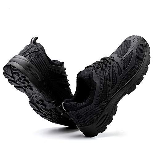 Zapatos de Trabajo,Botas de Seguridad,Zapatos de Seguridad Hombre Mujer con Punta de Acero Ligeros Calzado de Industrial y Deportivos para Comodas Zapatos de Industria y Construcción,Unisex