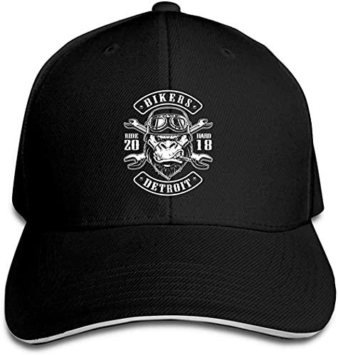XTTGGD Sombrero Unisex Sombrero Sándwich de Pico Ajustable Gorra de béisbol Hip Hop Sombrero al Aire Libre Gorra de béisbol