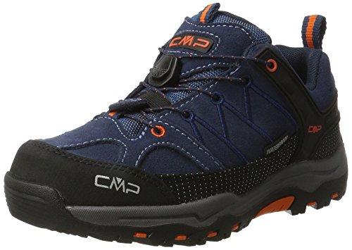 C.P.M. CMP Rigel Low WP, Zapatos de High Rise Senderismo Unisex Adulto, Turquesa (Artico-Chili), 37 EU