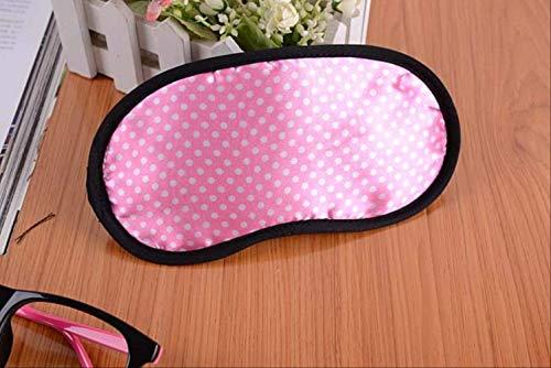 Augenmaske zum Schlafen Blackout, tragbare weiche Reise Schlaf Rest Augenmaske, für Männer, Frauen und Kinder Schlafmaske 1pc pink