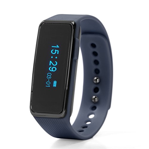 NUBAND NU-G0002-NB Fitness Wearable OLED Display drahtloser Aktivitätstracker