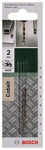 Bosch 2 609 255 063 - Broca para metal HSS-Co, DIN 338