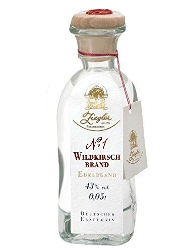 Ziegler Wildkirsch Brand Nr. 1 Deutschland 0,05 Liter Miniatur