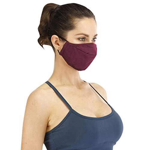 SGZJ Facial Cubierta,  Facial Cubierta Protectora,  con Gafas Fijas/Cubierta de Plástico/Filtro de Algodón,  Facial Cubierta de Polvo Reutilizable/Partículas