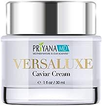 PriyanaMD VersaLuxe Caviar Cream Powerful Anti-Aging and Skin Hydrating, Caviar Extract , Omega-3 Fatty Acid, Anti-Aging Moisturizer, Skin Care