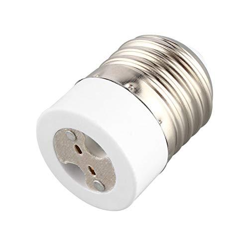 Kitechildheed E14 /à E27 Support de Lampe Douille de Lampe Professionnelle Durable Home Lampholder Blanc