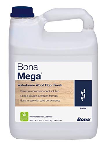 Bona Mega Wood Floor Finish Satin 1 Gallon