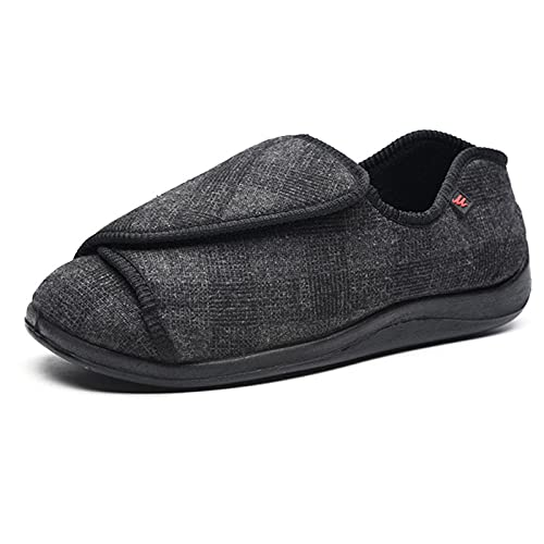ZGHHTDTY Diabetes Zapatos hinchados, además de ancho de verano, hombres y mujeres,...