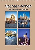 Sachsen-Anhalt - Meine wundervolle Heimat (Wandkalender 2022 DIN A2 hoch): Die schoensten Ansichten in Sachsen-Anhalt - aussergewoehnlich inszeniert (Monatskalender, 14 Seiten )