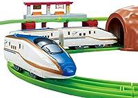 プラレールにぎやかアナウンス サウンドE7系新幹線かがやきレールセット