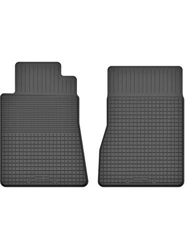 KO-RUBBERMAT 2 Stück Gummifußmatten Vorne geeignet zur Mercedes SLK R170 (1996-2003) ideal angepasst