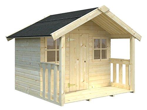 Gartenwelt Riegelsberger Spielhaus Tobi 1 ohne Stelzen & Treppe inkl. Dachpappe V13, Toby B187 x T175 cm