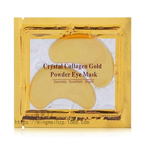 Uniqueheart Pores Anti-wrinkle Lifting Firming Brighten Skin Gold Eye Mask To Dark Circles To Eye Bags Lifting Tight Soothing Eye Mask