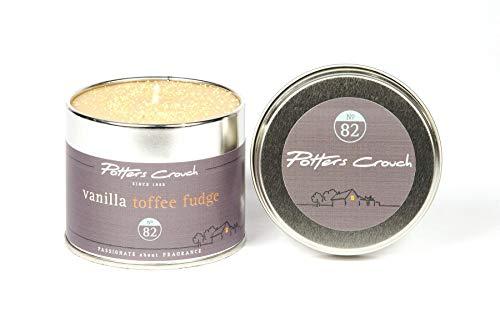 Vanille Toffee Fudge Bougie Tin