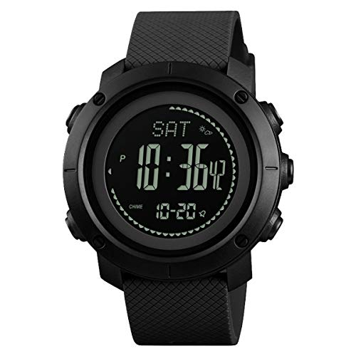 Military Watches for Man with Compass Sports Waterproof ABC Watch Activity...