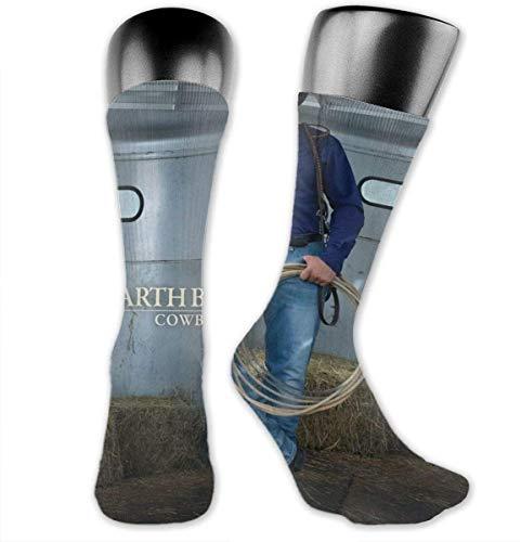 LanDu Calcetines Garth Brooks para hombres y mujeres. Calcetines deportivos, medias de enfermera deportivas para correr