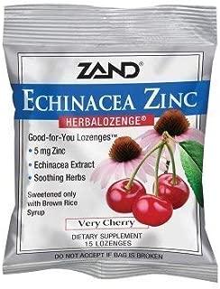 Zand Herbalozenge, Cherry Echinacea Zinc, 15 Count (Pack of 3) by Zand