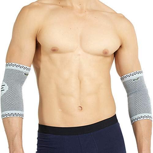 Coudière en fibre de bambou (1 Paire) de marque Neotech Care - Matériau léger, élastique, flexible et respirant - Com...