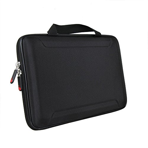 Hermitshell Hard EVA Travel Case Fits Apple MacBook 11-12 Inch Air Dell HP Acer Asus Fujitsu Lenovo Samsung Sony Toshiba Laptop Notebook Ultrabook Tablet