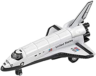 Rhode Island Novelty 5 Inch Diecast Pullback Space Shuttle One Space Shuttle