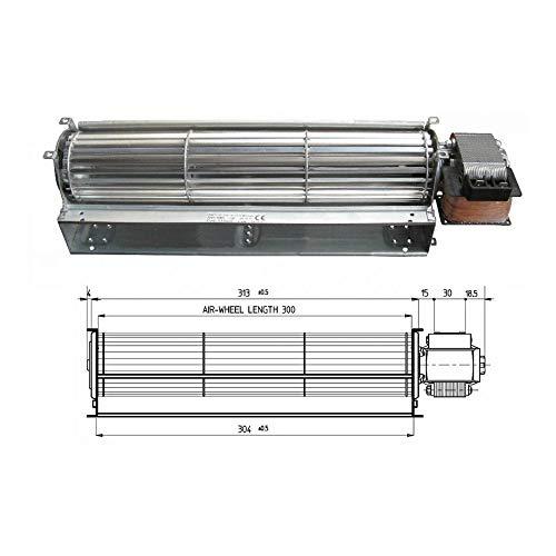 Ventilador tangencial estufa de pellets Tga 60/1-300/30 Emmevi Fergas Nordica