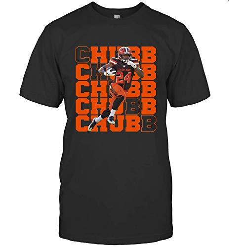 Vintage Ch.u.b.b 24 Football Ni.c.k Je.r.s.ey Bn10 Running Back T Shirt Hoodie Tank Sweatshirt Birthday Gift Idea DMN T Black