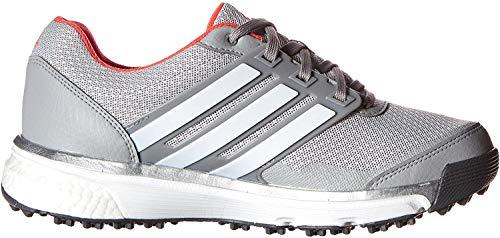 adidas Damen W Adipower S Boost II Spikeless Golfschuh, Grau (Transparenter Onix/FTWR weiß/stoßrot S16), 36 EU